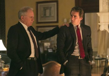 Halt and Catch Fire: Lee Pace e John Getz nell'episodio The 214s