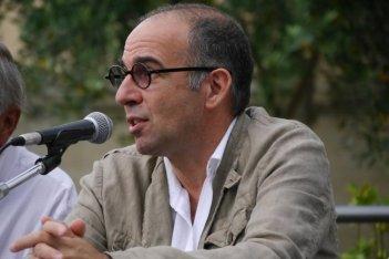 Giuseppe Tornatore a Fiesole durante la cerimonia di consegna del Premio Fiesole ai maestri del cinema