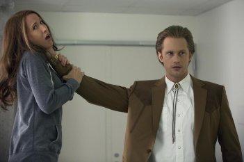 True Blood: Alexander Skarsgard e Anna Camp nell'episodio Lost Cause