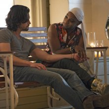 True Blood: Nelsan Ellis e Nathan Parsons nell'episodio Lost Cause