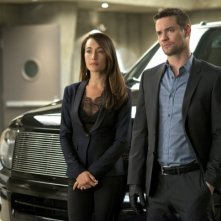 Nikita: Maggie Q e Shane West nell'episodio Blue-Files