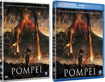 Le cover homevideo di Pompei
