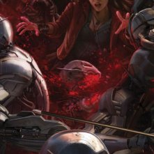 Avengers: Age of Ultron - Il San Diego Comic-Con concept art poster di Scarlet Witch