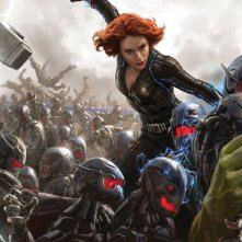 Avengers: Age of Ultron - Il San Diego Comic-Con concept art poster di Black Widow