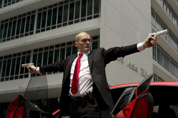 Hitman: Agent 47, Rupert Friend in azione