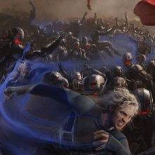 Avengers: Age of Ultron - Il San Diego Comic-Con concept art poster di Quicksilver