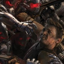 Avengers: Age of Ultron - Il San Diego Comic-Con concept art poster di Hawkeye