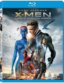 La cover del blu-ray di X-Men: Giorni di un futuro passato