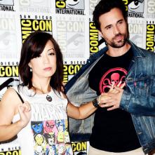 Comic-Con 2014: Ming-Na Wen e Brett Dalton in un'immagine