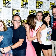 Comic-Con 2014: il cast di Agents of S.H.I.E.L.D in un'immagine