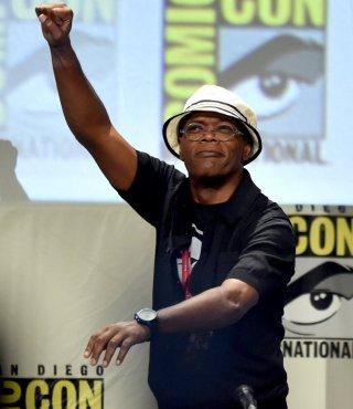 Comic-Con: Marvel Cinema - Samule L. Jackson in un'immagine