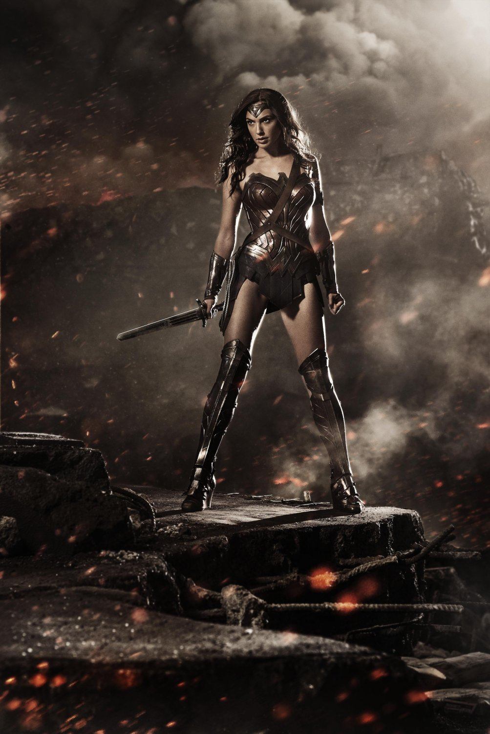 Gal Gadot è Wonder Woman in Batman v. Superman