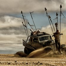 Mad Max: Fury Road, una scena dell'atteso film d'azione