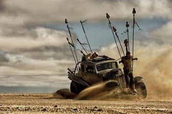 Mad Max: Fury Road, una scena dell'atteso film d'azione