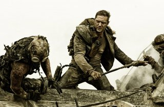 Tom Hardy in Mad Max: Fury Road