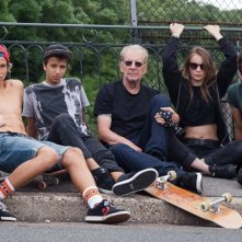 The Smell of Us: Larry Clark sul set circondato dai suoi interpreti