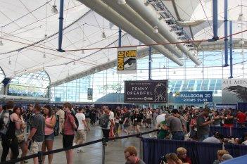 Comic-Con 2014: uno stand della fiera di San Diego