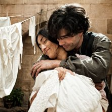 The Cut: Tahar Rahim con Sesede Terziyan in una scena del film