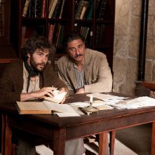 Tahar Rahim con Simon Abkarian in una scena di The Cut