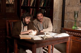 Tahar Rahim con Simon Abkarian in una scena di The Cut