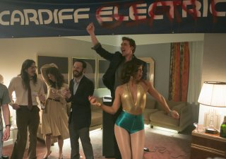 Halt and Catch Fire: Scoot McNairy e Lee Pace nell'episodio Up Helly Aa