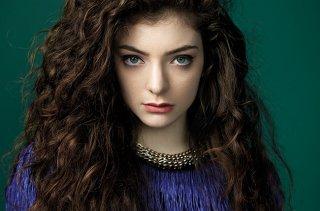 La cantante Lorde