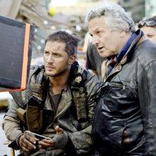 Mad Max: Fury Road - Tom Hardy riguarda i giornalieri con George Miller