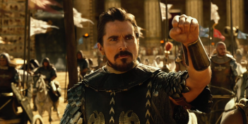 Exodus - Dei e Re: un primo piano di Christian Bale