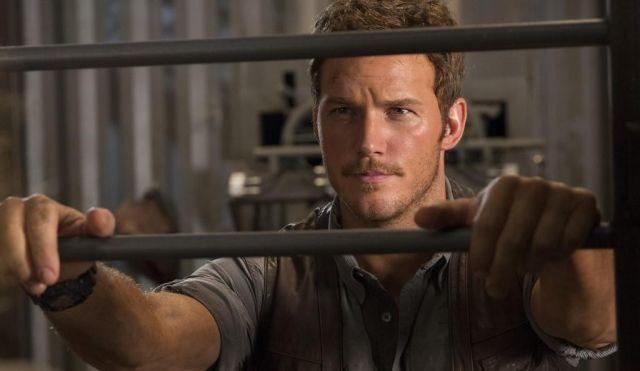 Jurassic World: un primo piano di Chris Pratt