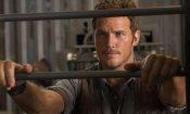 Jurassic World: Chris Pratt svela la sua curiosa abbronzatura bicolore