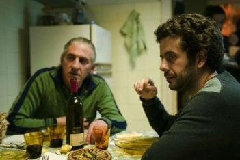 Perfidia: Alessandro Gazale con Stefano Deffenu in un momento del film