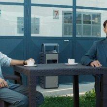 La Sapienza: Fabrizio Rongione con Ludovico Succio in una scena del film