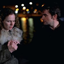 White Nights on the Pier: Astrid Adverbe e Pascal Cervo in una scena del film