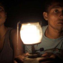 Ventos de agosto: Geovà Manoel dos Santos e Dandara De Morais in una scena del film