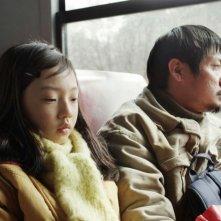 Alive: Park Jung-bum in una scena del film