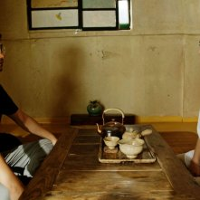 Gyeongju: Park Hae-il insieme a Shin Min-a in un'immagine del film