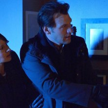 The Strain: Mia Maestro insieme a Corey Stoll nell'episodio It's Not For Everyone