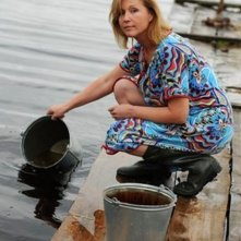 The Postman's White Nights: Irina Ermolova in una scena del film