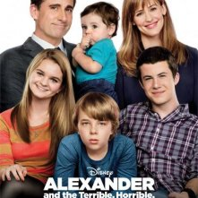 Alexander and the Terrible, Horrible, No Good, Very Bad Day: il poster prima della catastrofe