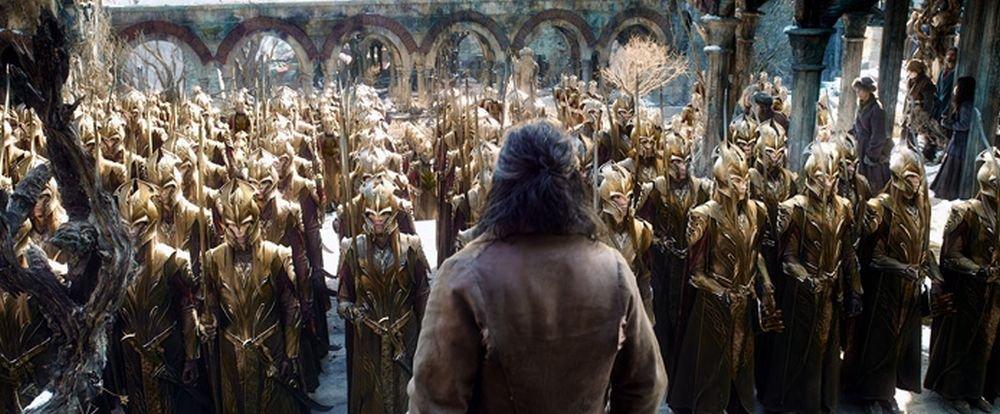 Lo Hobbit: La Battaglia delle Cinque Armate, una scena del film
