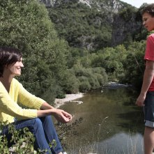 The last hammer blow: Clotilde Hesme con Romain Paul in una scena