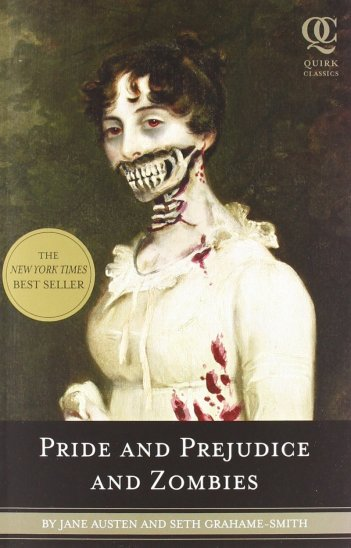 Pride and Prejudice and Zombies - copertina del libro
