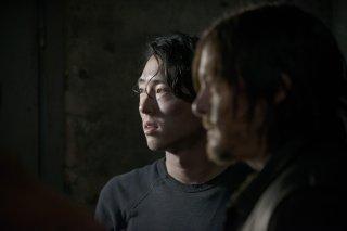 The Walking Dead: Steven Yeun e Norman Reedus nella premiere della stagione 5