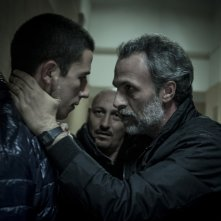 Anime nere: Fabrizio Ferracane con Giuseppe Fumo in una scena del film