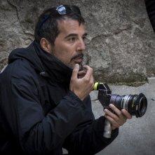 Anime nere: il regista Francesco Munzi sul set del film