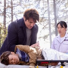 Extant: Goran Visnjic e Pierce Gagnon nell'episodio What on Earth Is Wrong?