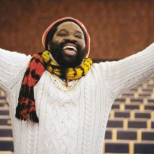 Schweizer Helden: Komi Togbonou in una scena del film