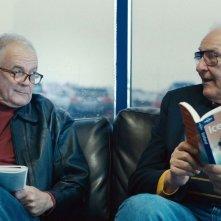 Land Ho!: Paul Eenhoorn con Earl Lynn Nelson in una scena del film