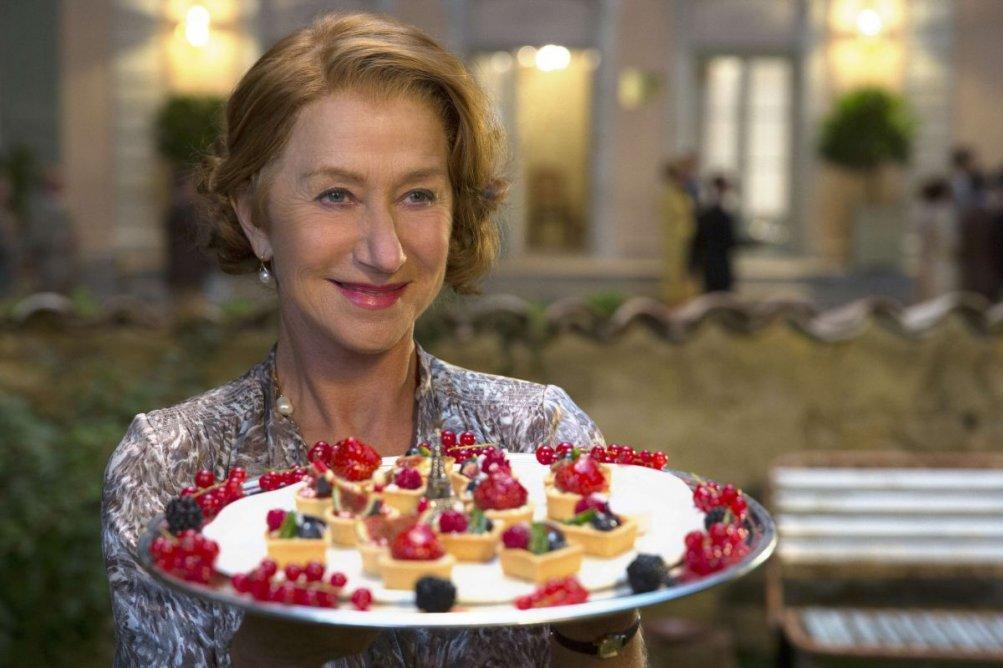 Amore, Cucina e... Curry:  Helen Mirren nei panni di Madame Mallory in una scena del film