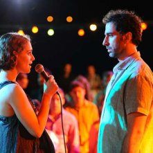 Love Island: Ariane Labed con Ermin Bravo in una scena del film